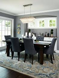 grey dining room chairs fascinating mestler dark brown rectangular dining room table 6