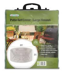 Large Patio Set Cover Gardman 225cm 8 Seater Green Round Garden Patio Set Cover 21 49