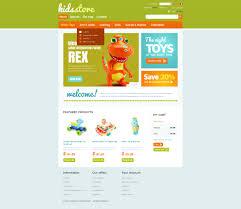 kids store oscommerce template 40061