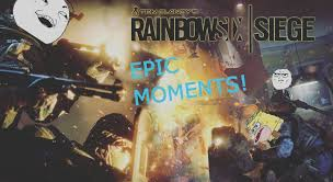rainbow six siege awesome moments montage 2 ace 1 v 5 youtube