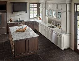 what color countertops go with brown cabinets granite countertops colors select the best one for your kitchen