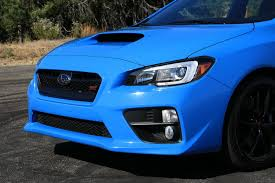 blue subaru gold rims 2016 subaru wrx sti series hyperblue first drive digital trends