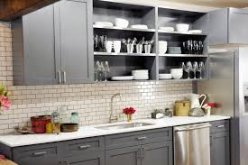 Grey Shaker Kitchen Cabinets by Gray Shaker Kitchen Cabinets Transitional Kitchen