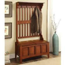 Coat Rack With Bench Seat Coat Rack Bench Ebay