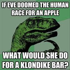 Velociraptor Meme - philosoraptor apple meme dump a day