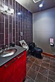 garage bathroom ideas cave garage contemporary bathroom vancouver by