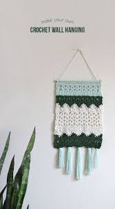 25 best crochet wall hangings ideas on pinterest wall hangings free crochet pattern diy wall hanging with tutorial by persia lou for crafts unleashed from consumer crafts