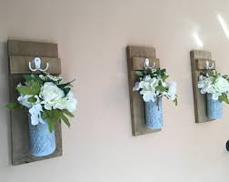 Flower Wall Sconces Flower Wall Sconce Etsy