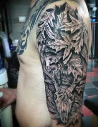 deer buck tattoo wildlife black and grey will spencer