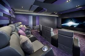 Montreal Home Theater Contemporary Home Theater Montreal Home Theatre Design