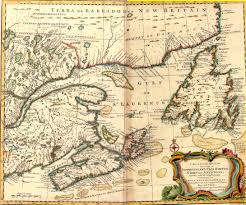 map canada east coast historic maps of newfoundland and labrador