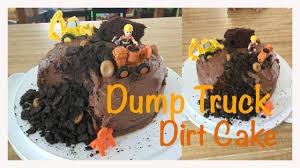 dump truck dirt cake youtube
