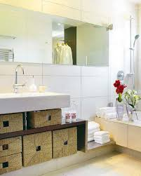 Wicker Bathroom Storage by 43 Ideas To Organize Wicker Basket Storage Shelterness