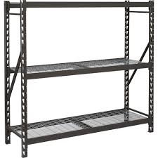 Metal Storage Shelves Decorating Edsal Shelving Metal Shelves Home Depot Costco