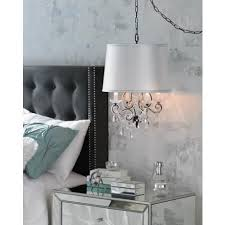 swag lights that plug into the wall 50 best bedrooms chandeliers bedside images on pinterest master