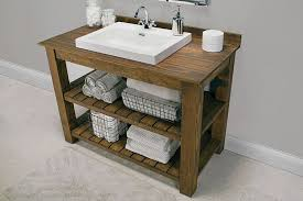 Brown Bathroom Cabinets by 11 Diy Bathroom Vanity Plans You Can Build Today