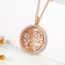 long crystal pendant necklace images Small owl pendant necklace tree of life hemuks world jpg