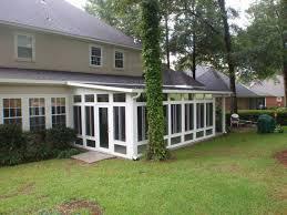 Backyard Screen House by Screen Room Contractor Biloxi Ms Patio Contractor Mobile Al