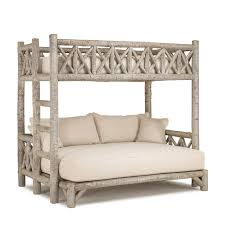 Plans For Building Log Bunk B by Designer Rustic Beds Of Exceptional Quality By La Lune Collection