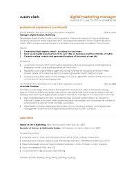 marketing resume exle copy resume sle director of marketing gotraffic co