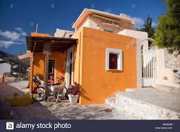 Hous Colorful Hous In Vrodado Syros Cyclades Islands Greek Islands