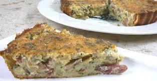 une cuisine pour voozenoo quiche sans pâte oignons lardons et chignons une cuisine