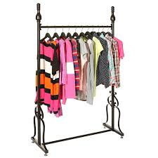 Clothing Storage by Amazon Com Decorative Freestanding Black Metal Single Rod Garment