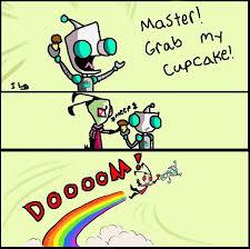 Zim Meme - grab my cupcake zim by invaderlix on deviantart