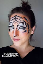 Face Makeup Designs For Halloween by Best 20 Tiger Makeup Ideas On Pinterest Cat Makeup Leopard