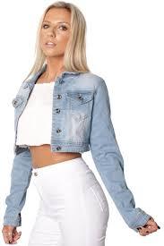 light blue cropped jean jacket light blue cropped denim jacket fashion snip