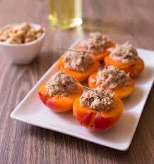 cuisiner thon abricots farcis au thon les meilleures recettes de cuisine d ôdélices