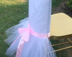 tutu chair covers tutu chair cover etsy