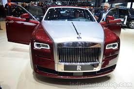rolls royce door rolls royce ghost series ii front with doors open geneva live