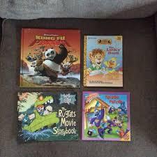 kung fu panda lucky duck rugrats movie storybook