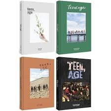 photo album set set seventeen 2nd album age cd