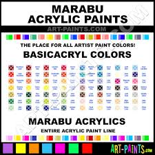 marabu basicacryl acrylic paint colors marabu basicacryl paint