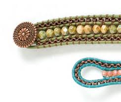 beading leather bracelet images Quick and easy leather jewelry making finishing techniques jpg