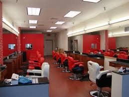 Small Shop Floor Plans Barber Shop Interior Pictures Hair Salon Interior Design Ideas