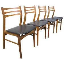 2402242 l set of four findahls mac2b8belfabrik danish teak dining