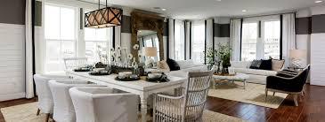 model home interior designers meadowbrook farm leesburg virginia van metre homes