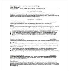 sample company resume business resume template no2powerblasts com