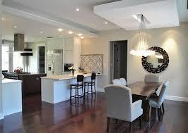 cuisine et salle a manger idee deco salon cuisine ouverte sur et salle a manger newsindo co