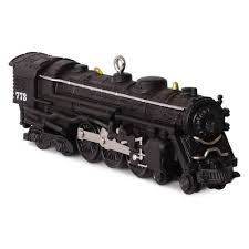 773 hudson steam locomotive lionel trains ornament keepsake