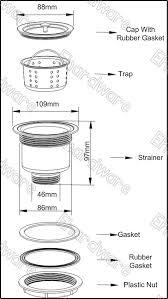 Deep Stainless Steel Kitchen Sink Kitchen Sink Drain Strainer