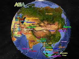 South West Asia Map by Asia Cartes Linguistiques Linguistic Maps