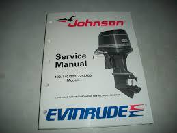 1989 evinrude johnson outboards 120 140 200 225 300 models service