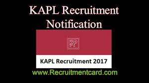 kapl recruitment 2017 apply for 30 representative karnataka
