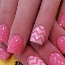 25 pink and white acrylic nails designs nails in pics