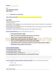 abc journals paper submission cover letter www abcjournals net