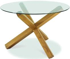 glass top for table round buy bentley designs lyon oak dining table round glass top online